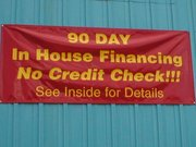 AUTO REPAIR FINANCING IS AVAILABLE