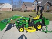 2011 John Deere 2305 Trac Ldr 4x4 62 Mower I-Match