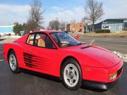 ferrari testarosa Ferrari Testarossa Base Coupe 2-Door